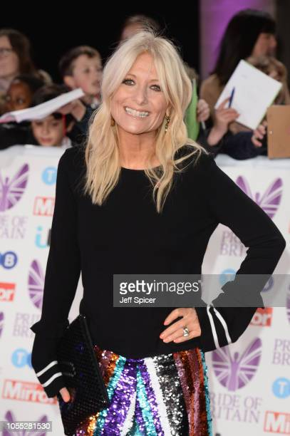 Gaby Roslin attends the Pride of Britain Awards 2018 at The Grosvenor House Hotel on October 29 2018 in London England