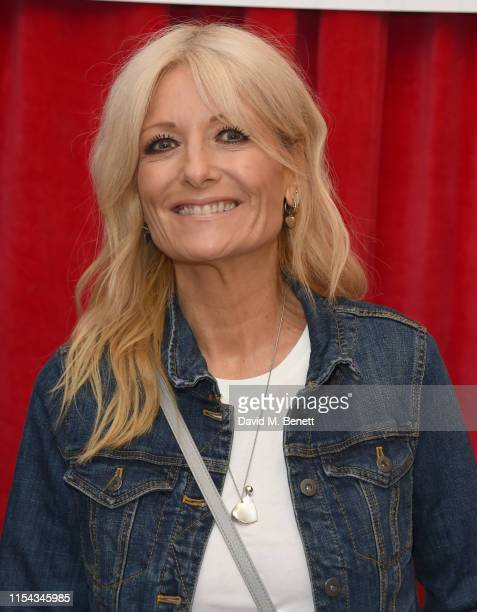 Gaby Roslin attends the World Premiere of Horrible Histories The Movie Rotten Romans at Odeon Luxe Leicester Square on July 6 2019 in London England