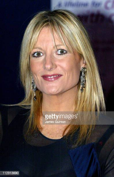 Gaby Roslin during Night of The Stars Ball November 26 2005 at Royal Hospital Gardens in London Great Britain