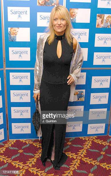 Gaby Roslin during The 2004 Charity Chocolate Ball at Cafe Royal in London Great Britain