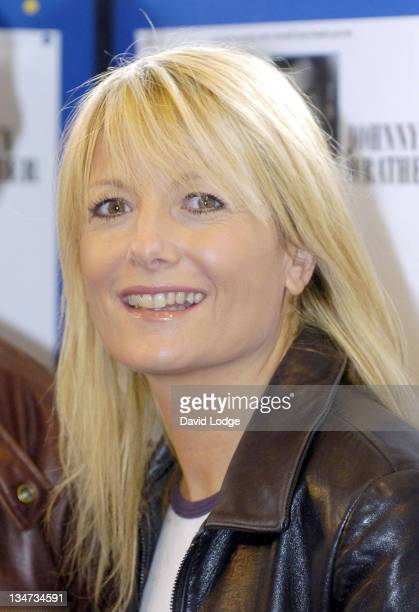 Gaby Roslin during When Harry Met Sally First UK Tour Photocall at Churchill Theatre in London Great Britain