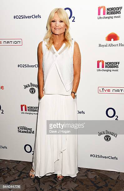 Gaby Roslin poses for a photo during the Nordoff Robbins O2 Silver Clef Awards on July 1 2016 in London United Kingdom