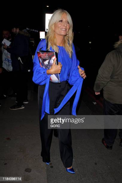 Gaby Roslin seen leaving the Pride of Britain Awards at the Grosvenor hotel in Mayfair on October 28 2019 in London England