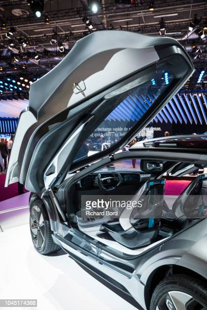 Gac Motor Enverge concept car is displayed at the Paris Motor Show at Parc des Expositions Porte de Versailles on October 3 2018 in Paris France From...