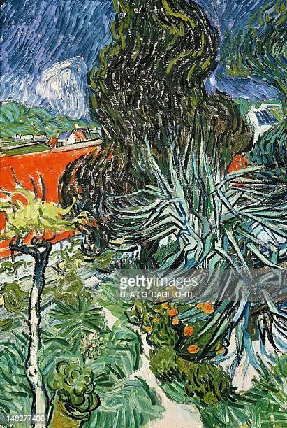 Gachet's Garden in AnverssurOise watercolour by Vincent van Gogh Paris Musée D'Orsay