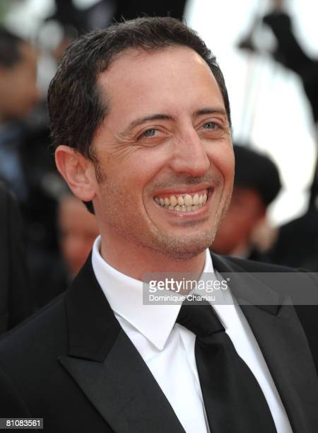 """Gad Elmaleh arrives at the """"Blindness"""" premiere during the 61st Cannes International Film Festival on May 14, 2008 in Cannes, France."""