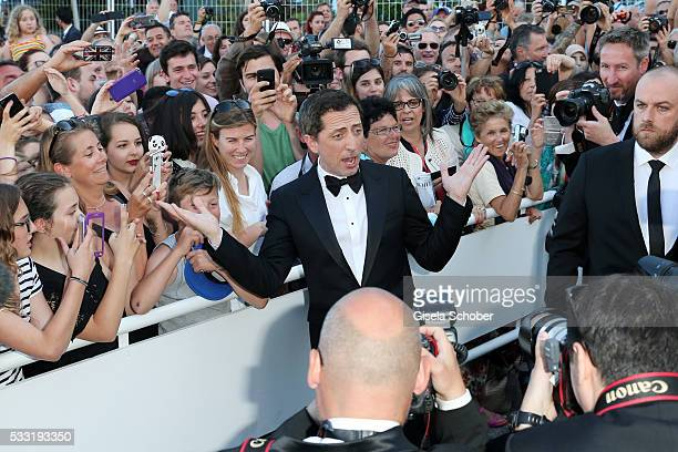 """Gad Elmaleh arrives at the """"Elle"""" Premiere during the 69th annual Cannes Film Festival at the Palais des Festivals on May 21, 2016 in Cannes, France."""
