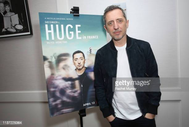 """Gad Elmaleh attends Netflix's """"Huge in France"""" S1 special screening at The London West Hollywood at Beverly Hills on March 20, 2019 in West..."""
