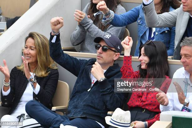 Gad Elmaleh attends the 2019 French Tennis Open - Day Fifteenth at Roland Garros on June 09, 2019 in Paris, France.