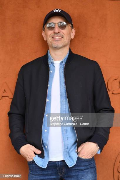 Gad Elmaleh attends the 2019 French Tennis Open Day Six at Roland Garros on May 31 2019 in Paris France