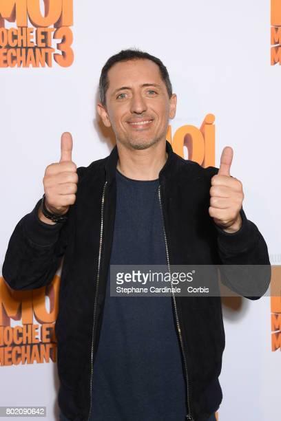 Gad Elmaleh attends the Despicable Me Paris Premiere at Cinema Gaumont Marignan on June 27, 2017 in Paris, France.