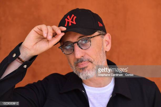 Gad Elmaleh attends the French Open 2021 at Roland Garros on June 11, 2021 in Paris, France.