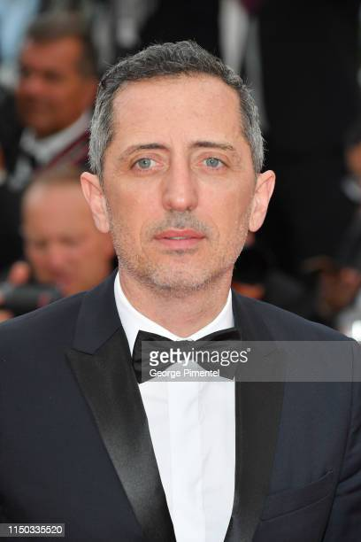"""Gad Elmaleh attends the screening of """"A Hidden Life """" during the 72nd annual Cannes Film Festival on May 19, 2019 in Cannes, France."""