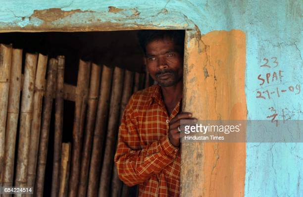 Gadchiroli Naxalism Naxals Naxalite Kunwarsinh Simpli is one of the few remaining villagers in Markegaon has decided to spend the entire day at the...