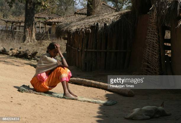 Gadchiroli Naxalism Naxals Naxalite one of the few remaining villagers in Markegaon has decided to spend the entire day at the village square The...