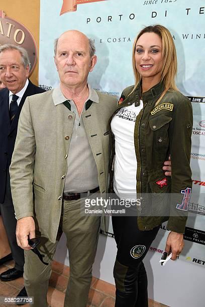 Gaddo della Gherardesca and Lilly Becker attend Matchless E Bike Presentation on June 5 2016 at Casone Ugolino in Castagneto Carducci near Livorno...
