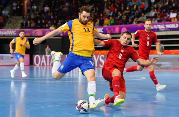 LTU: Brazil v Czech Republic: Group D - FIFA Futsal World Cup 2021