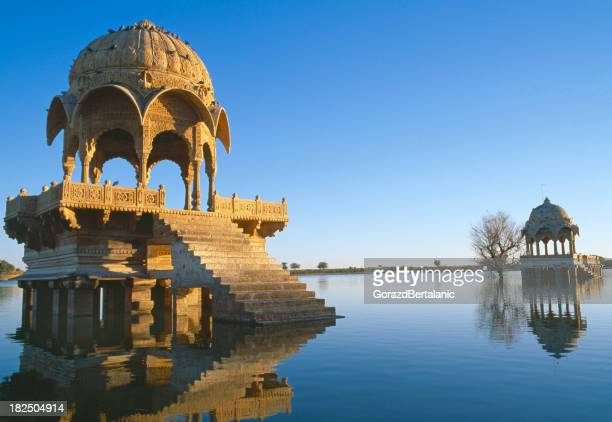 Gadi Sagar lake in Jaisalmer, Rajasthan, India