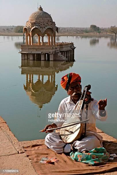 Gadisar lake Jaisalmer Rajasthan India