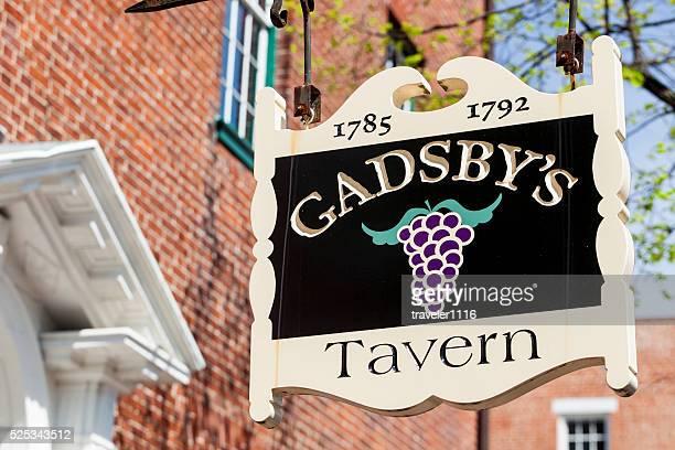 Gadsby's Tavern In Alexandria, Virginia