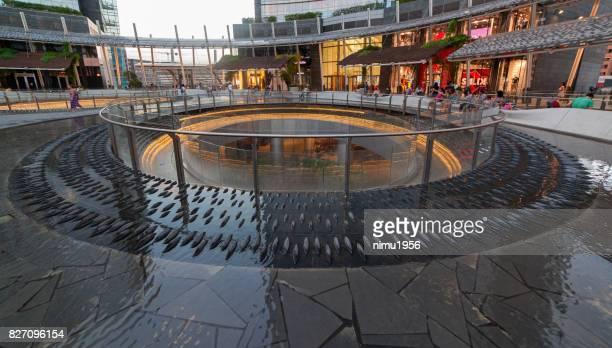 gae aulenti 広場、ミラノ-イタリア - moderno ストックフォトと画像