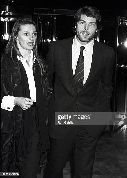 Gae Exton and Christopher Reeve during Nine to Five New York City Premiere After Party at Luchows in New York City New York United States