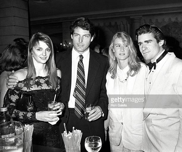 Gae Exton Christopher Reeve Laura Dern and Treat Williams