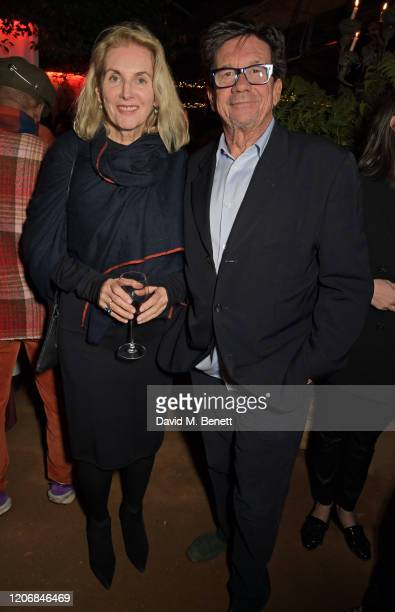 Gael Boglione and Francesco Boglione attend the launch of new positive media platform 'whynow' at Petersham Nurseries on March 12 2020 in London...