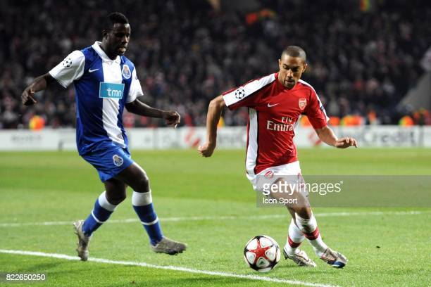 Gael Clichy FC Porto / Arsenal 1/8 de Finale de la Ligue des Champions League Stade du Dragon