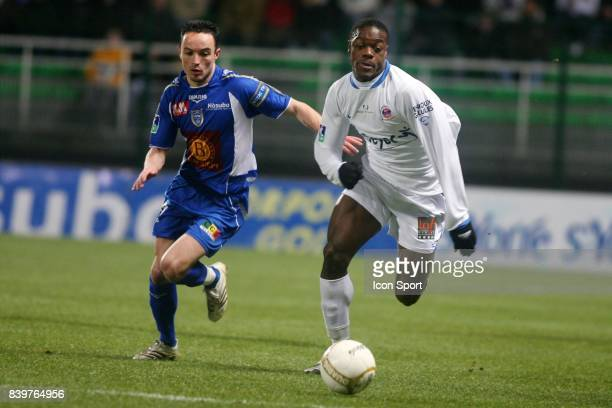 Gael DANIC / Lamine KONE Troyes / Chateauroux 24 eme journee de Ligue 2