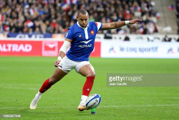 Gael Fickou of France during the International Friendly match between France and South Africa at Stade de France on November 10 2018 in SaintDenis...