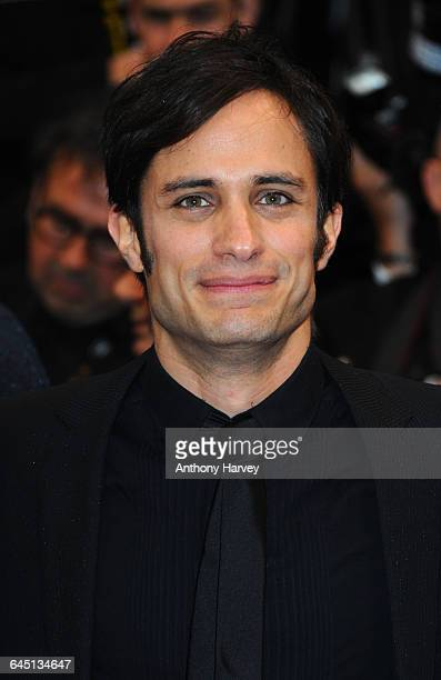 Gael GarcÆa Bernal attends the Amour Premiere during the 65th Annual Cannes Film Festival at Palais des Festivals on May 20, 2012 in Cannes, France.