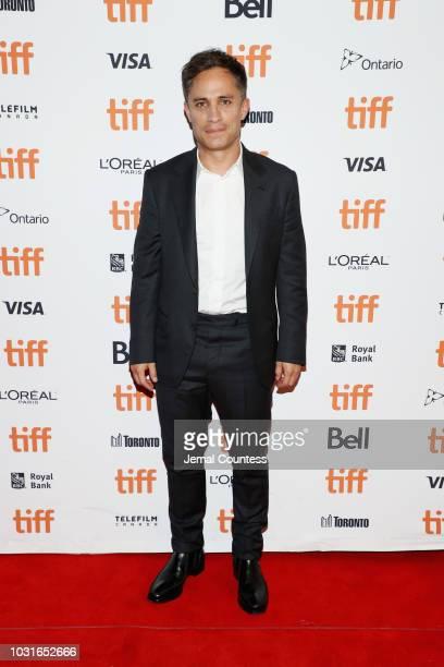 "Gael García Bernal attends the ""Museo"" premiere during 2018 Toronto International Film Festival at Winter Garden Theatre on September 11, 2018 in..."
