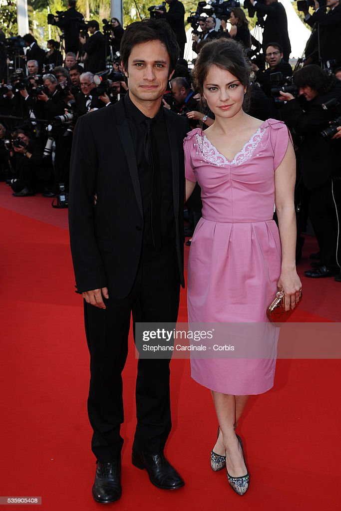 Gael Garcia Bernal and Dolores Fonzi at the Premiere for 'Biutiful' during the 63rd Cannes International Film Festival.