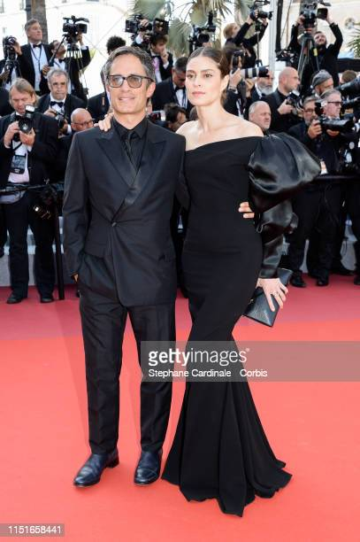 Gael Garcia Bernal and Fernanda Aragones attend the Closing Ceremony Red Carpet during the 72nd annual Cannes Film Festival on May 25 2019 in Cannes...