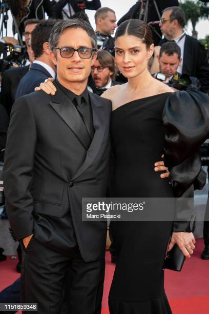 Gael Garcia Bernal and Fernanda Aragones attend the closing ceremony screening of The Specials during the 72nd annual Cannes Film Festival on May 25...