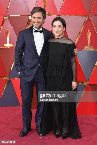 Gael Garcia Bernal and Natalia Lafourcade attend the 90th Annual Academy Awards at Hollywood Highland Center on March 4 2018 in Hollywood California