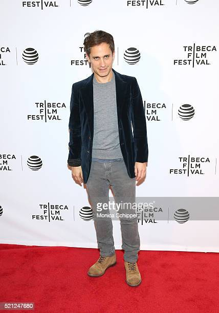 Gael Garcia Bernal at Madly Premiere 2016 Tribeca Film Festival at Chelsea Bow Tie Cinemas on April 14 2016 in New York City