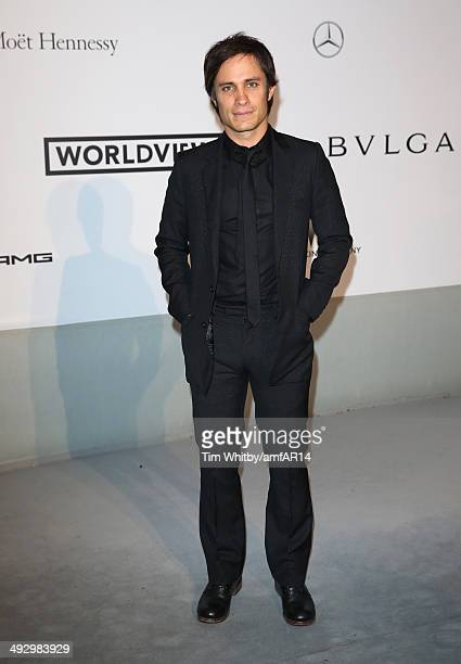 Gael Garcia Bernal attends amfAR's 21st Cinema Against AIDS Gala Presented By WORLDVIEW BOLD FILMS And BVLGARI at Hotel du CapEdenRoc on May 22 2014...