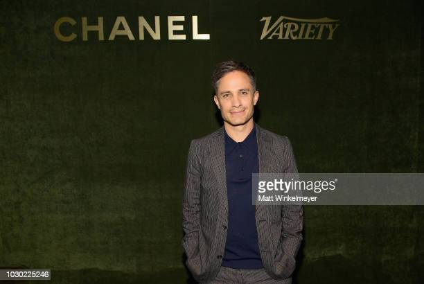 Gael Garcia Bernal attends an evening hosted by CHANEL Variety to honour Keira Knightley at the Inaugural Female Filmmaker Dinner Toronto...