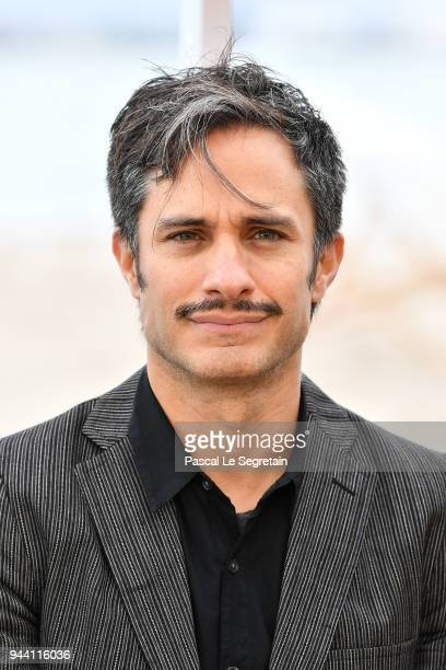 Gael Garcia Bernal attends Aqui En La Tierra Photocall during the 1st Cannes International Series Festival on April 10 2018 in Cannes France