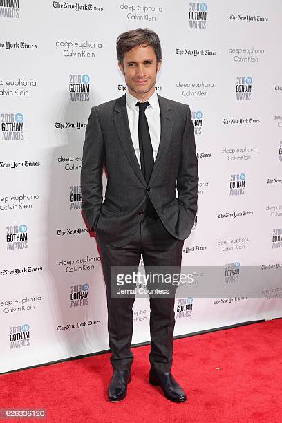 Gael Garcia Bernal attends IFP's 26th Annual Gotham Independent Film Awards at Cipriani, Wall Street on November 28, 2016 in New York City.