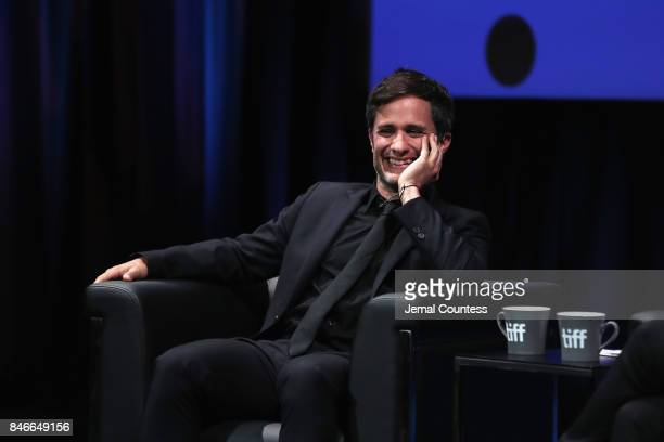 Gael Garcia Bernal attends 'In Conversation With Gael Garcia Bernal' during the 2017 Toronto International Film Festival at Glenn Gould Studio at CBC...