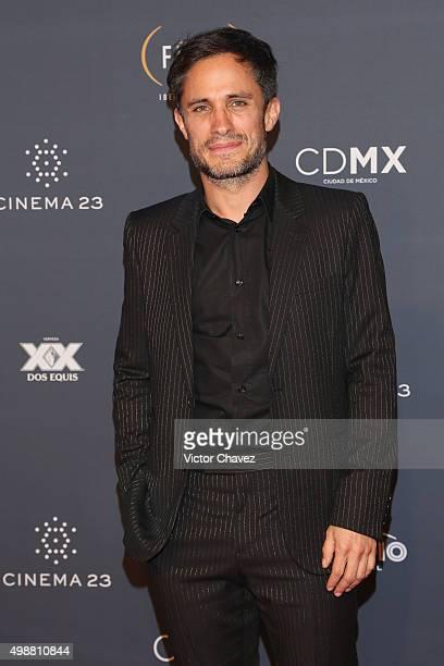 Gael Garcia Bernal attends Premio Iberoamericano de Cine Fenix 2015 at Teatro de La Ciudad on November 25 2015 in Mexico City Mexico