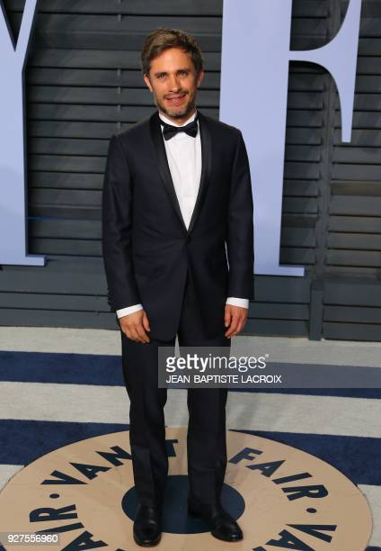 Gael Garcia Bernal attends the 2018 Vanity Fair Oscar Party following the 90th Academy Awards at The Wallis Annenberg Center for the Performing Arts...