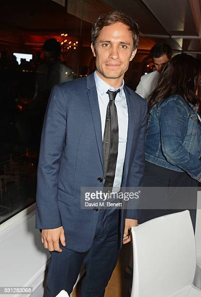 Gael Garcia Bernal attends The 8th Annual Filmmakers Dinner hosted by Charles Finch and JaegerLeCoultre at Hotel du CapEden Roc on May 13 2016 in...