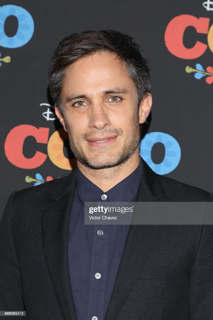 Gael Garcia Bernal attends the 'Coco' Mexico City premiere at Palacio de Bellas Artes on October 24, 2017 in Mexico City, Mexico.