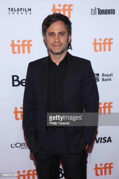 Gael Garcia Bernal attends the If You Saw His Heart premiere during the 2017 Toronto International Film Festival at Winter Garden Theatre on...