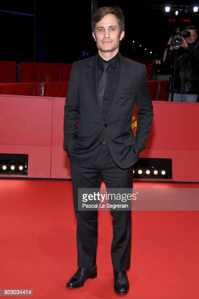 Gael Garcia Bernal attends the 'Museum' premiere during the 68th Berlinale International Film Festival Berlin at Berlinale Palast on February 22 2018...