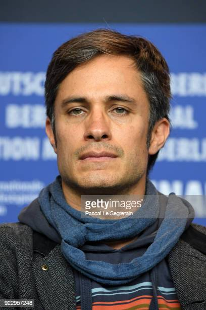 Gael Garcia Bernal attends the 'Museum' press conference during the 68th Berlinale International Film Festival Berlin at Grand Hyatt Hotel on...